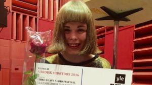 Pohjoismaisen Shortdox-kilpailun voittaja Iines Korhonen