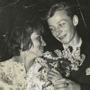 Benito ja Irma Casagrande vuonna 1960.