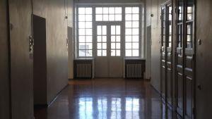 En tom korridor på Lappvikens sjukhus