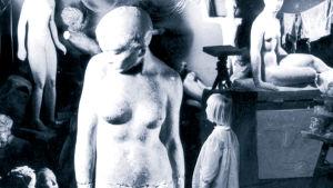 Bokpärm till Bildhuggarens dotter, Schildts 1968