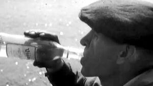 Man dricker, Yle 1950