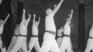 Miesvoimistelijoita, Oulun Pyrintö vuonna 1954
