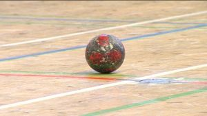 En handboll.