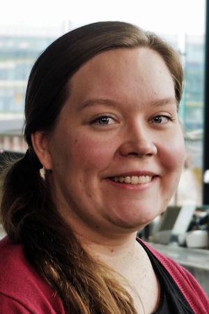 Gambisti Johanna Kilpijärvi.