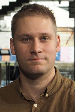 Sotilaskapellimestariopiskelija Sauli Saarinen.