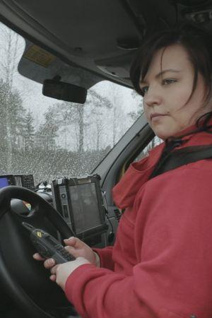 Jenny Lindahl som medverkar i tv-serien Andra stadiet