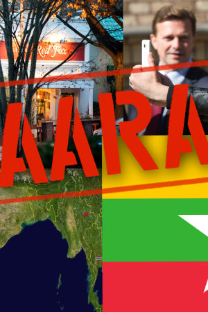 Kuvakollaasi: Myanmar, Intia, poliisin piirittämä pizzeria