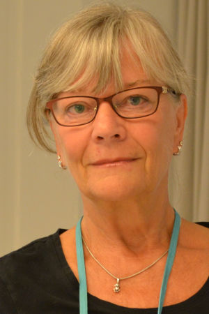 Leena Gräsbeck, tidigare modersmålslärare i Botby i Helsingfors.