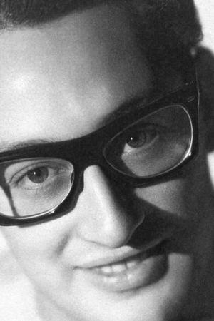 Buddy Holly lähikuvassa. Kuva dokumenttielokuvasta Buddy Holly: Rave On.