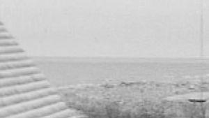 Maakarin kirkko ja kalastamökkejä vuodelta 1972