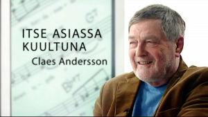 Claes Andersson haastattelussa.