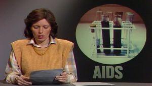Tv-nytt om aids, Yle 1986