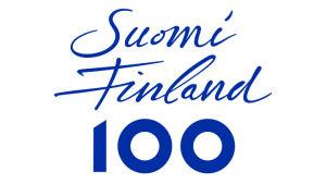 Suomen itsenäisyyden 100-vuotisjuhlan logo