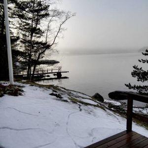 Kristina Koivisto har fotograferst dessa sorkgångar som blev synliga då snön smalt.