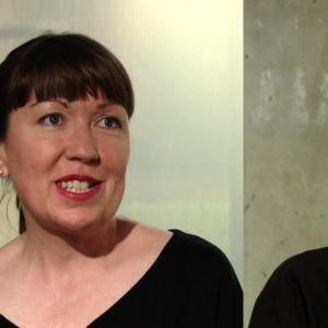 Donna Lynas ja Taru Elfing