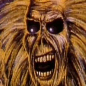 Kuvakaappaus Iron Maidenin Wasted Years -musiikkivideolta.