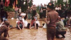 Kullanhuuhdonnan MM-kisat käynnissä 1977.