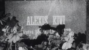Aleksi Kivis gravsten