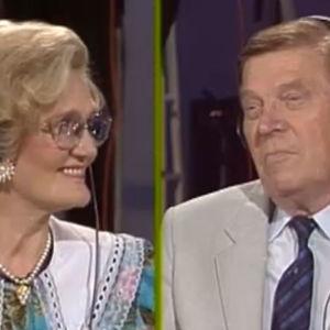 Kyllikki ja Johannes Virolainen Tuttu juttu Show'ssa vuonna 1992