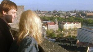 Niklas Häggblom och Marika Parkkomäki i Vägsjälar, Yle 1998