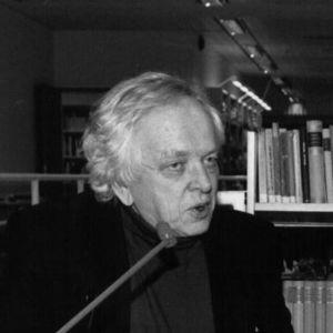 Kirjailijat Veijo Meri ja Jouko Turkka