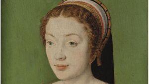 Ranskalainen oppinut nainen Renée de France, protestanttien suojelija 1500-luku