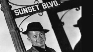 Billy Wilder. Kuvakaappaus Billy Wilder -dokumentista.