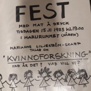 Festaffisch från 1983.