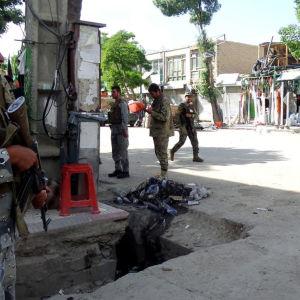 Gatubild från Kabul