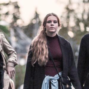 Chris, Vilde, Eva, Noora och Sana i första säsongen av Skam.