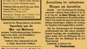 Lockstedter-Haide-Bote 1916