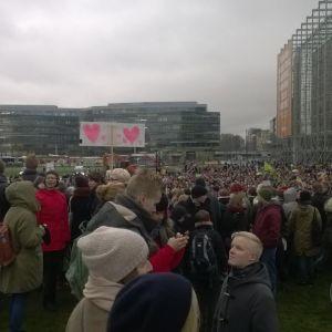 Kärleksdemonstrationen på Medborgartorget