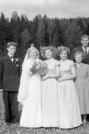 Ett bröllop på landsbygden, 1950