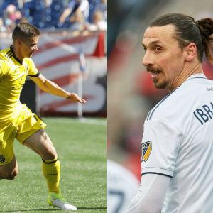 Jukka Raitala och Zlatan Ibrahimovic.