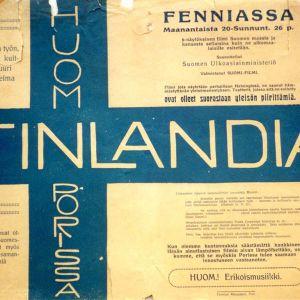 Finlandia-filmin mainos