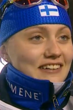 Pirjo Muranen Lahden MM-kisoissa 2001
