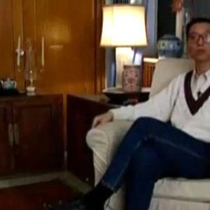 Kiinalainen toisinajattelija Liu Xiaobo.