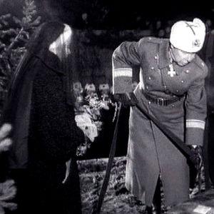 Presidentti Paasikiven hautajaiset (1956).
