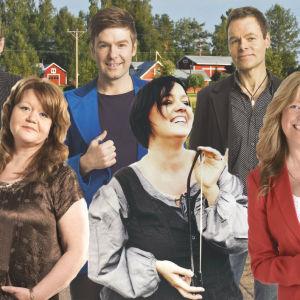 Artister som medverkar i Visor på väg 2014, Åsa Jinder,Susann Sonntag, Thomas Lundin, Heléne Nyberg, Peter Svanström,  Christian Vesterqvist