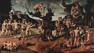 Bacchus berusar folket