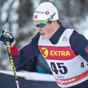 Johannes Høsflot Klæbo, Ruka 2016.