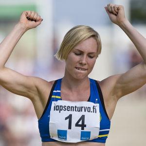 Linda Sandblom, Kalevaspelen 2016.