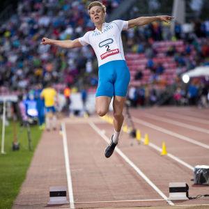 Kristian Bäck, Sverigekampen 2016.