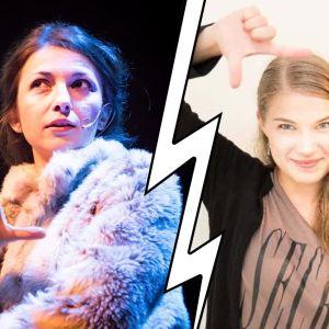Skådespelare Julia Hellén ersätter Dina Grigoryeva i januaris föreställningar av Raseborgs ruiner.