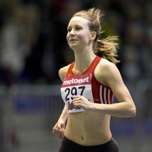 Viivi Lehikoinen, inomhus-FM 2016.