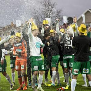 IFK Mariehamn, guldfest.