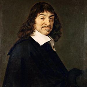 Frans Halsin maalaus Rene Descartes'ta