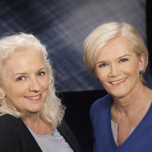 Anne Flinkkilä ja Maarit Tastula