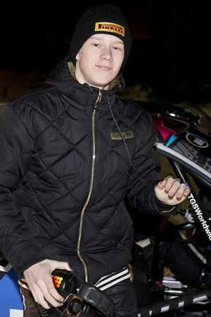 Kalle Rovanperä stort framtidsnamn i rally.