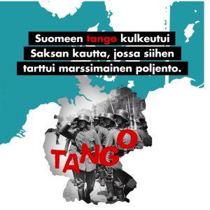 Tango kulkeutui Suomeen Saksan kautta.
